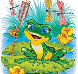 Картинка к слову царевна лягушка