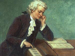 Картинка моцарт